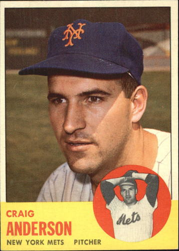 Photo of 1963 Topps #59 Craig Anderson