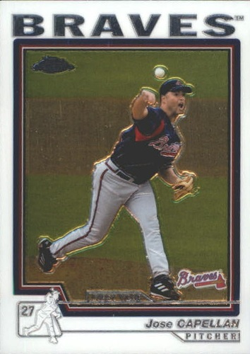 Photo of 2004 Topps Chrome Traded #T143 Jose Capellan FY RC