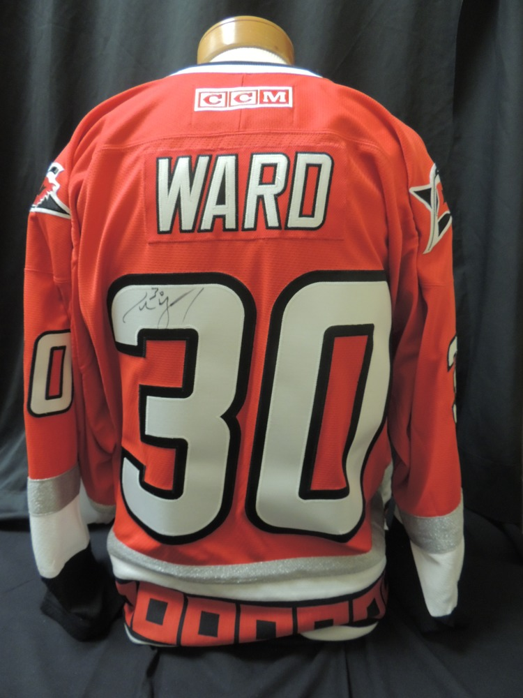Cam Ward #30 Autographed Replica Jersey