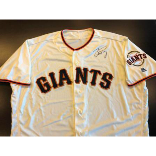 Photo of Giants Metallica Auction: Buster Posey Signed Giants Jersey