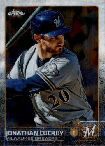 Photo of 2015 Topps Chrome #13 Jonathan Lucroy