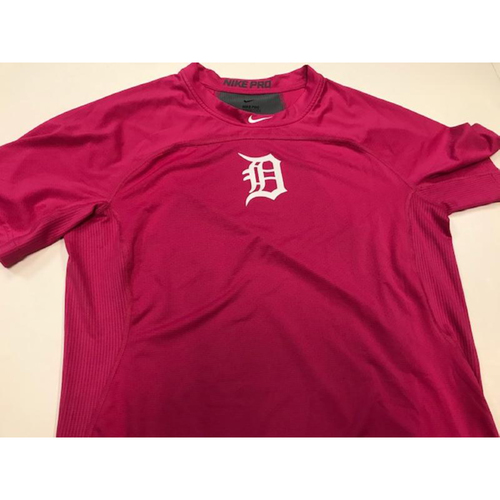 Photo of Team-Issued Pink Dri-Fit Shirt #19