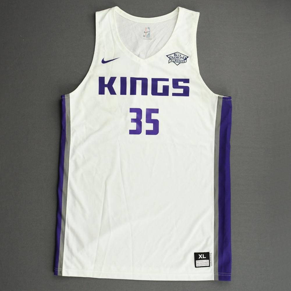 Marvin Bagley III - Sacramento Kings - 2018 NBA Summer League - Game-Worn 1st Half Only Jersey
