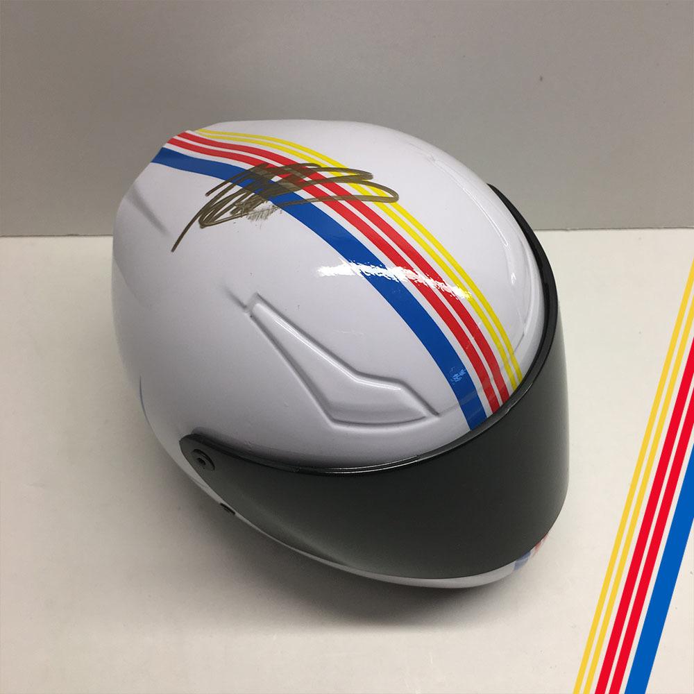 NASCAR'S Martin Truex Jr.' Autographed helmet!