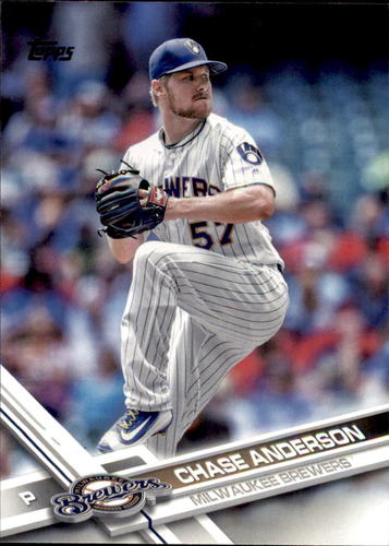 Photo of 2017 Topps #376 Chase Anderson