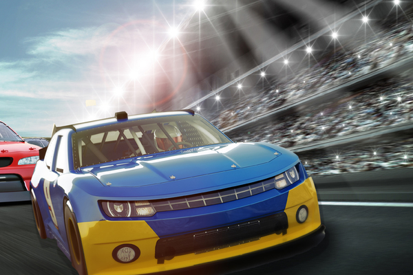 Clickable image to visit NASCAR Cup Series at Las Vegas Motor Speedway