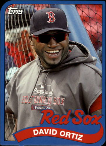 Photo of 2014 Topps '89 Topps Die Cut Minis #TM34 David Ortiz