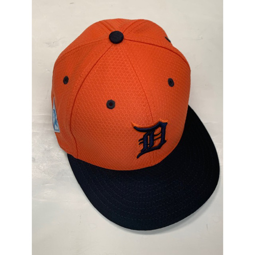 Team-Issued Road Spring Training Cap: #53