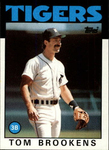 Photo of 1986 Topps #643 Tom Brookens