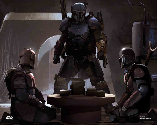 The Mandalorian and The Armorer