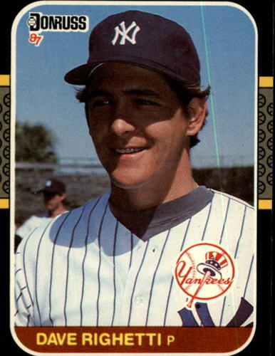 Photo of 1987 Donruss #128 Dave Righetti
