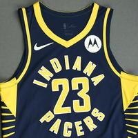 JaKeenan Gant - Indiana Pacers - Game-Worn Icon Edition Jersey - NBA India Games - Dressed, Did Not Play - 2019-20 NBA Season