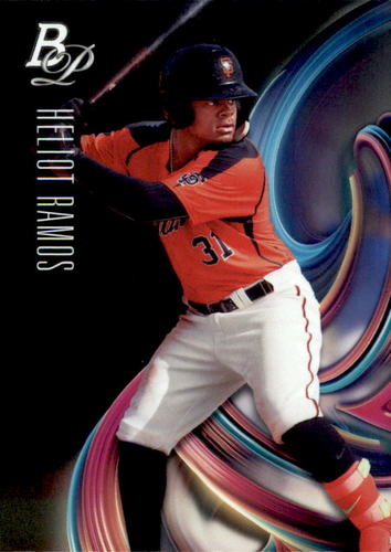 Photo of 2018 Bowman Platinum Top Prospects #TOP29 Heliot Ramos