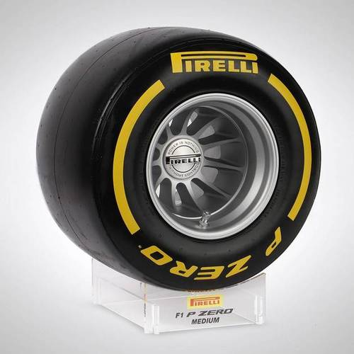 Photo of Pirelli Wind Tunnel Tyre - Yellow Medium Compound