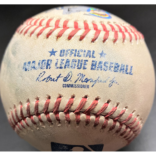 Photo of Game-Used Baseball: Tarik Skubal Detroit Tigers MLB Debut Pitch (MLB AUTHENTICATED)