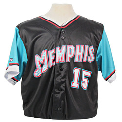 Photo of Matthew Liberatore Autographed Game-Worn 2021 Grizzlies-themed Jersey