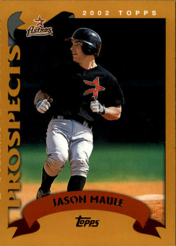 Photo of 2002 Topps #315 Jason Maule PROS RC