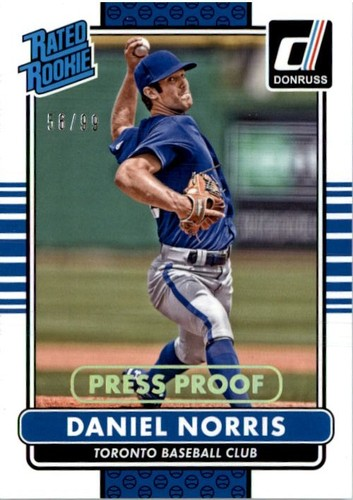 Photo of 2015 Donruss Press Proofs Gold #34 Daniel Norris RR