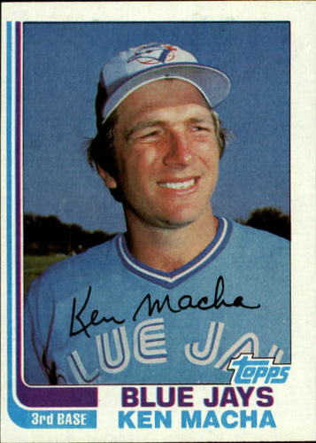 Photo of 1982 Topps #282 Ken Macha