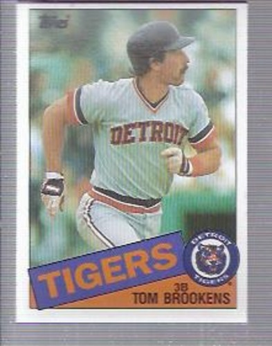 Photo of 1985 Topps #512 Tom Brookens