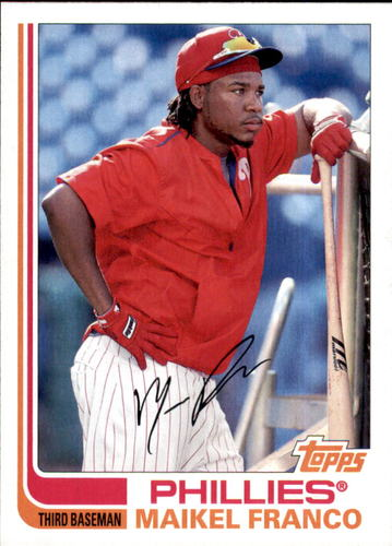 Photo of 2017 Topps Archives #156 Maikel Franco