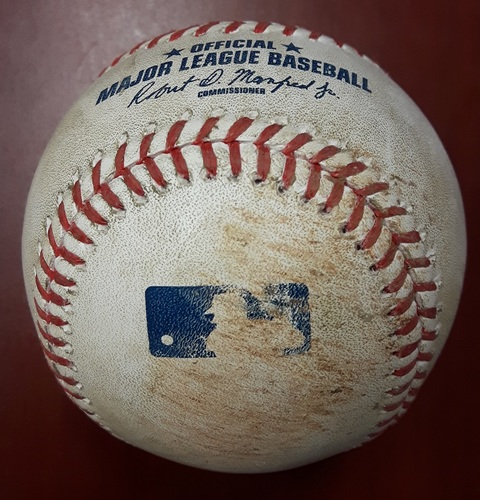 Photo of Authenticated Game Used Baseball - Marcus Stroman Strikeout of Hanley Ramirez (April 18, 2017: Top 3)