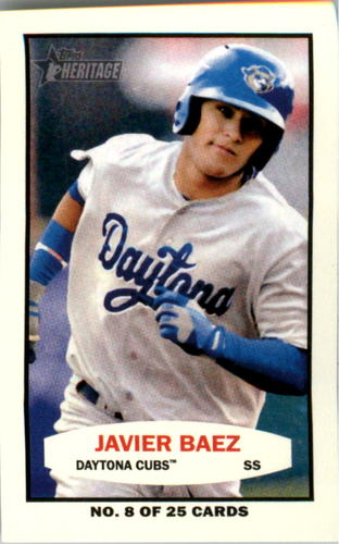 Photo of 2013 Topps Heritage Minors 1964 Bazooka #JB Javier Baez