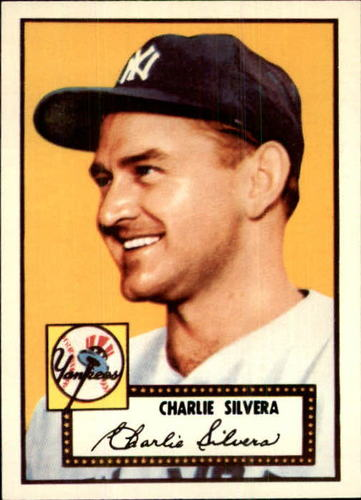 Photo of 1983 Topps 1952 Reprint #168 Charlie Silvera