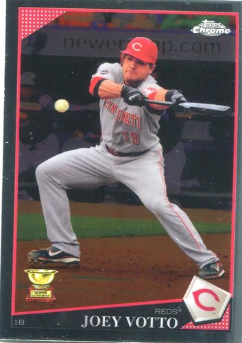 Photo of 2017 Topps Chrome Update All Rookie Cup #TARC19 Joey Votto