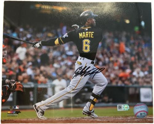 Photo of Starling Marte Autographed 8 x 10 Photo