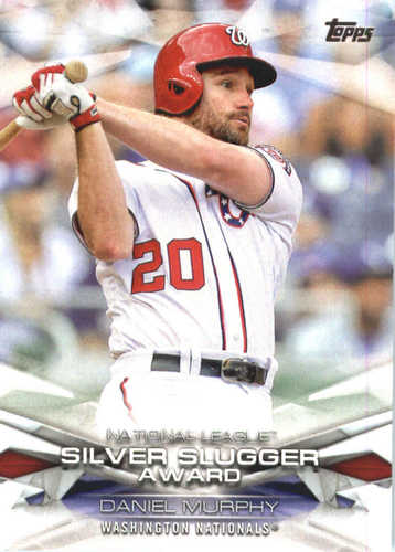 Photo of 2018 Topps MLB Awards #MLBA36 Daniel Murphy