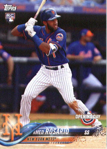 Photo of 2018 Topps Opening Day #70 Amed Rosario