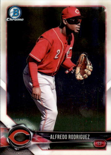 Photo of 2018 Bowman Chrome Prospects #BCP26 Alfredro Rodriguez