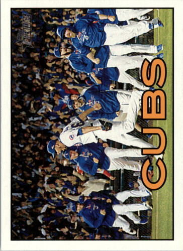 Photo of 2016 Topps Heritage #361 Chicago Cubs