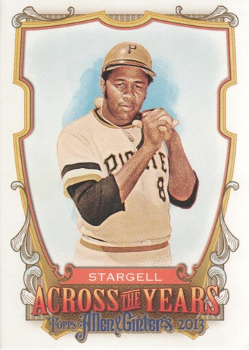 Photo of 2013 Topps Allen and Ginter Across the Years #WS Willie Stargell