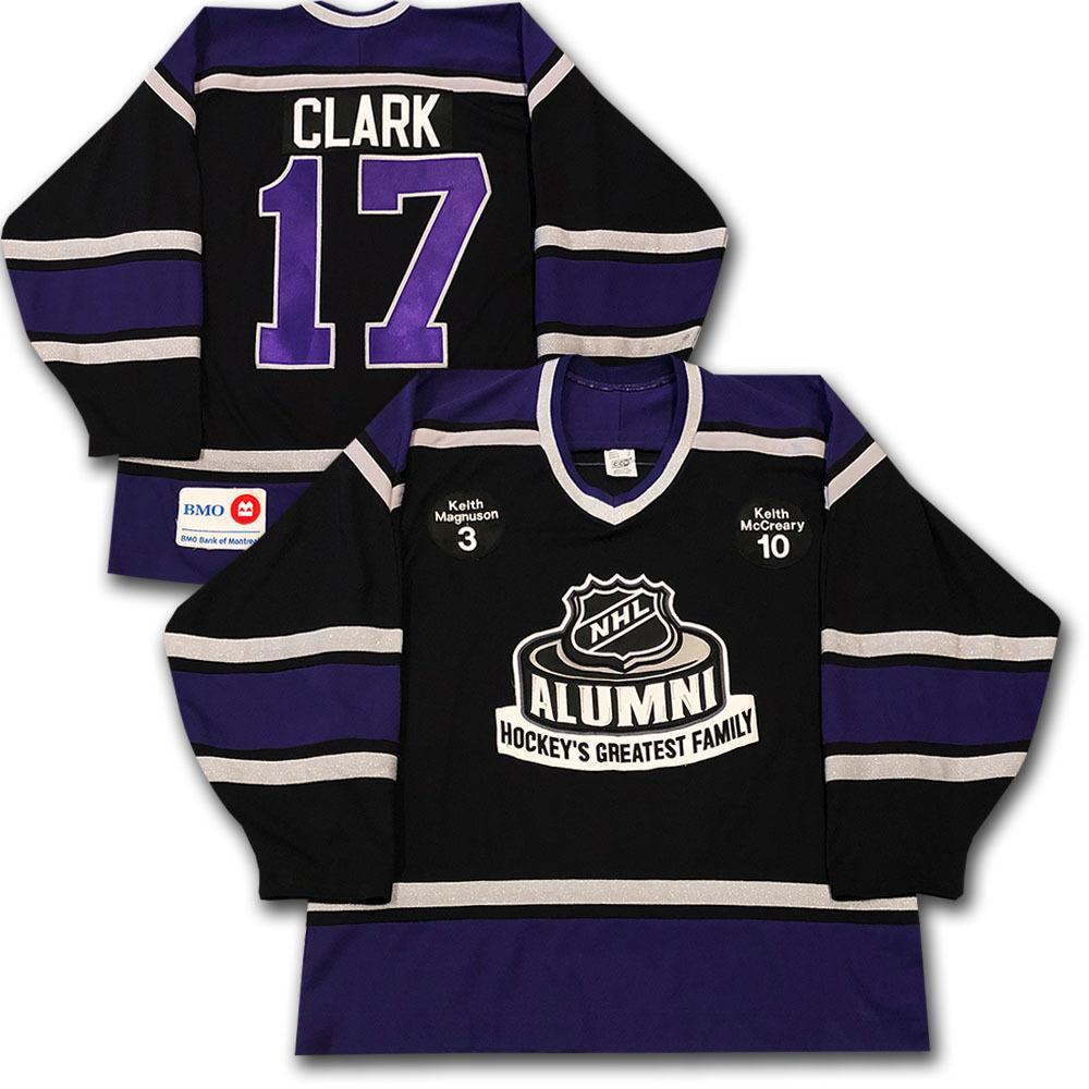 Wendel Clark Event-Worn NHL Alumni Jersey