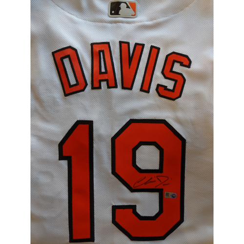 Photo of Chris Davis - Home Jersey: Autographed (Size 44)