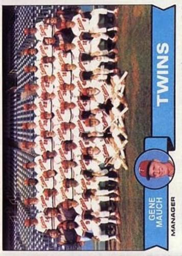 Photo of 1979 Topps #41 Minnesota Twins CL/Gene Mauch MG