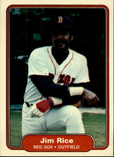 Photo of 1982 Fleer #305 Jim Rice