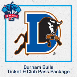Photo of Durham Bulls Ticket & Club Pass Package