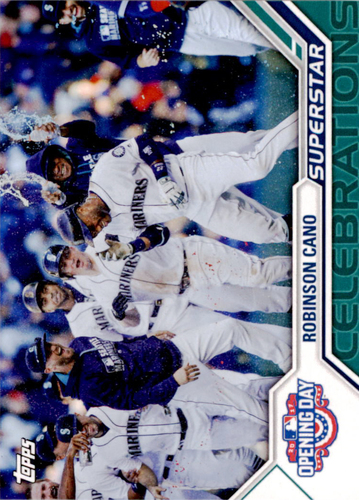 Photo of 2017 Topps Opening Day Superstar Celebrations #SC13 Robinson Cano