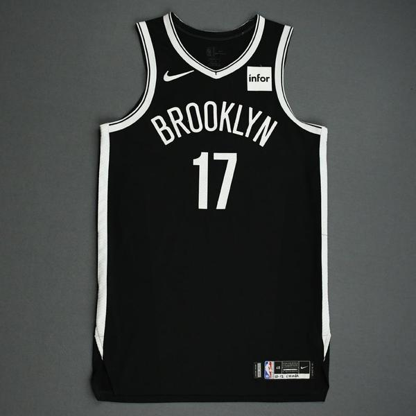 Image of Garrett Temple - Brooklyn Nets - NBA China Games - Game-Worn Icon Edition Jersey - 2019-20 NBA Season