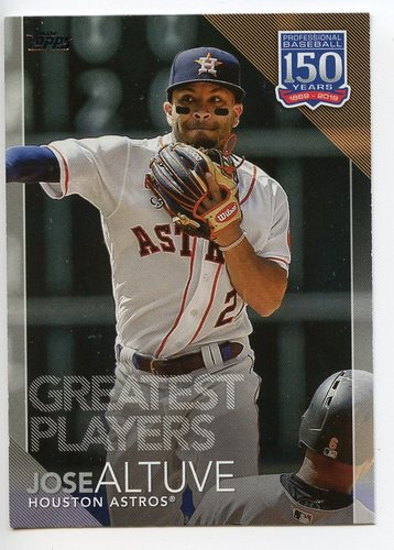 Photo of 2019 Topps Update 150 Years of Baseball #15022 Jose Altuve