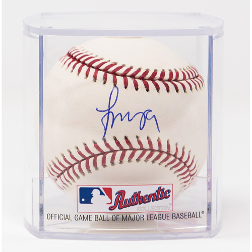 Photo of Francisco Mejia Autographed Baseball