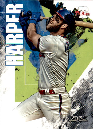 Photo of 2019 Topps Fire #137 Bryce Harper