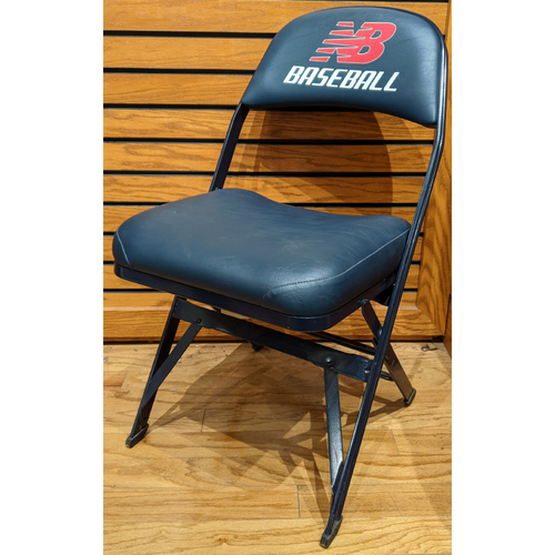 Photo of Fenway Park Visiting Locker Room Felix Hernandez Chair