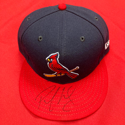 Photo of Paul Goldschmidt Autographed Team Issued Alternate Cap  (Size 7 1/2)