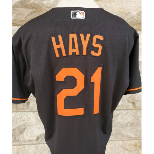 Photo of Austin Hays: Jersey - Game-Used (HR)