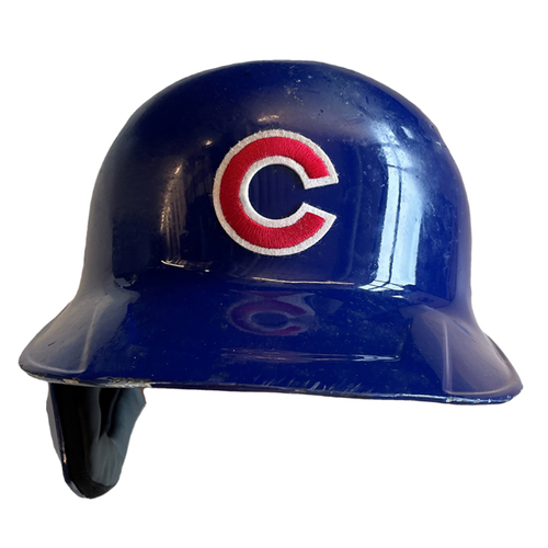Photo of Ian Happ Team-Issued Helmet -- Size 7 1/4 -- 2021 Season