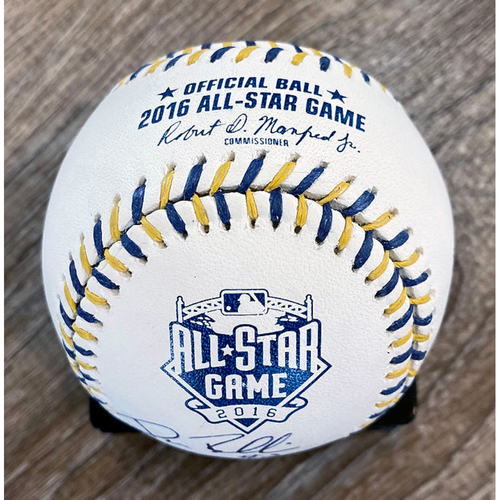 Photo of UMPS CARE AUCTION: Crew Signed 2016 All-Star Game Baseball